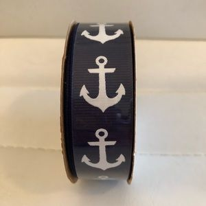 Other - Navy blue with white anchor accent ribbon